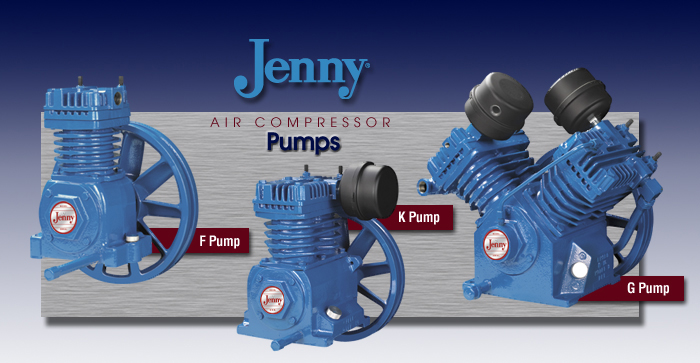 Jenny Emglo Compressors Portable Amp Stationary Air