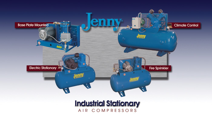 Jenny Stationary Air Compressors
